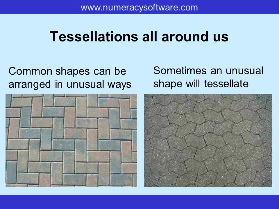 Tessellations all around us