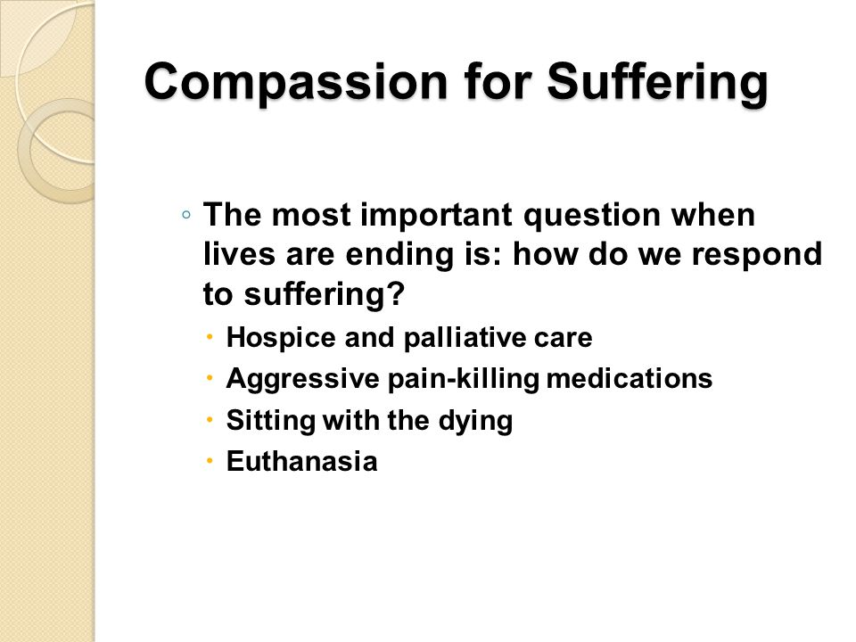 Compassion for Suffering