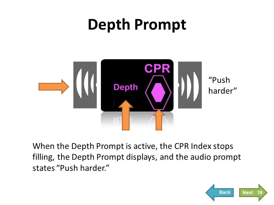 Depth Prompt Prompts will automatically stop when the compression depth returns to 2 inches .