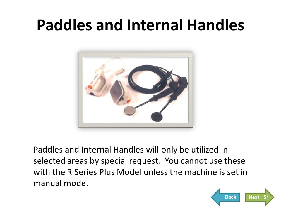 Paddles and Internal Handles