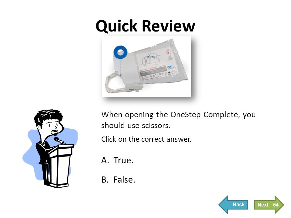 Quick Review Correct! Click Next to continue.