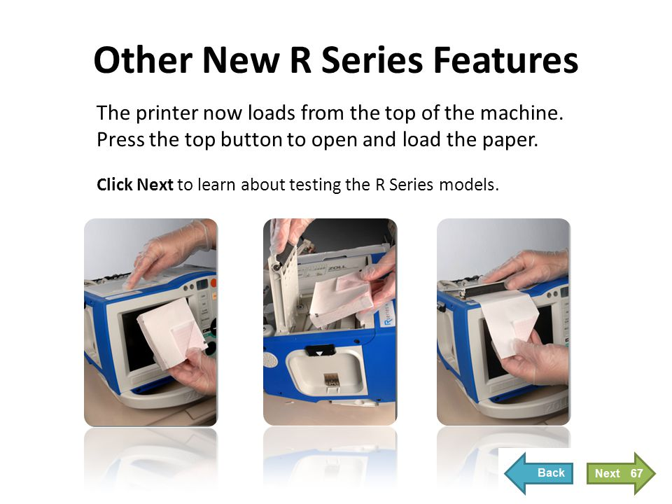 Testing of the R Series Models