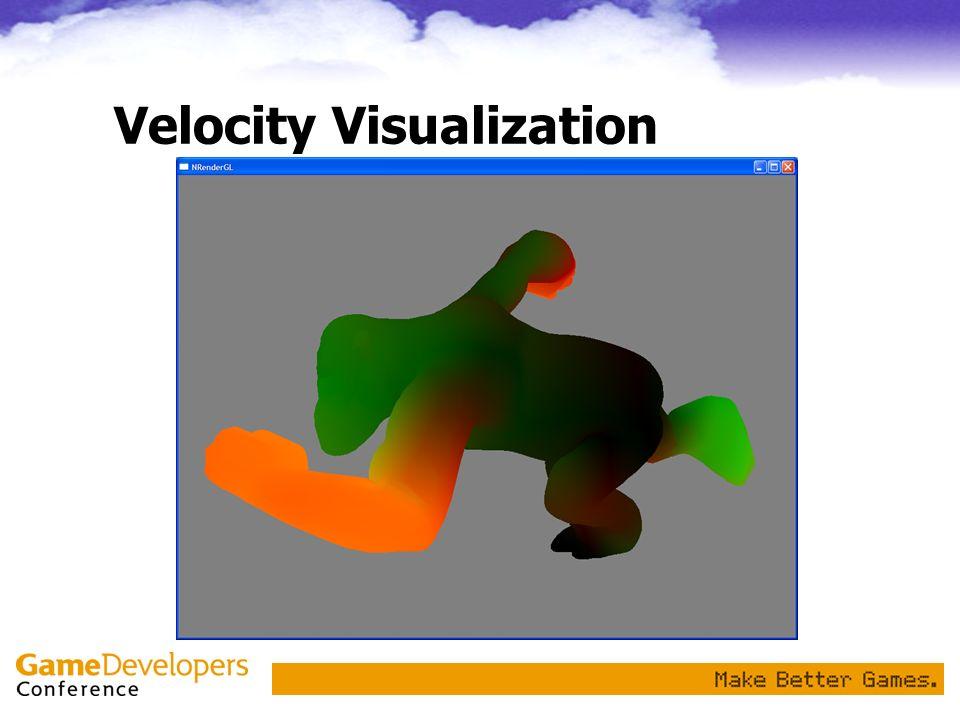 Velocity Visualization