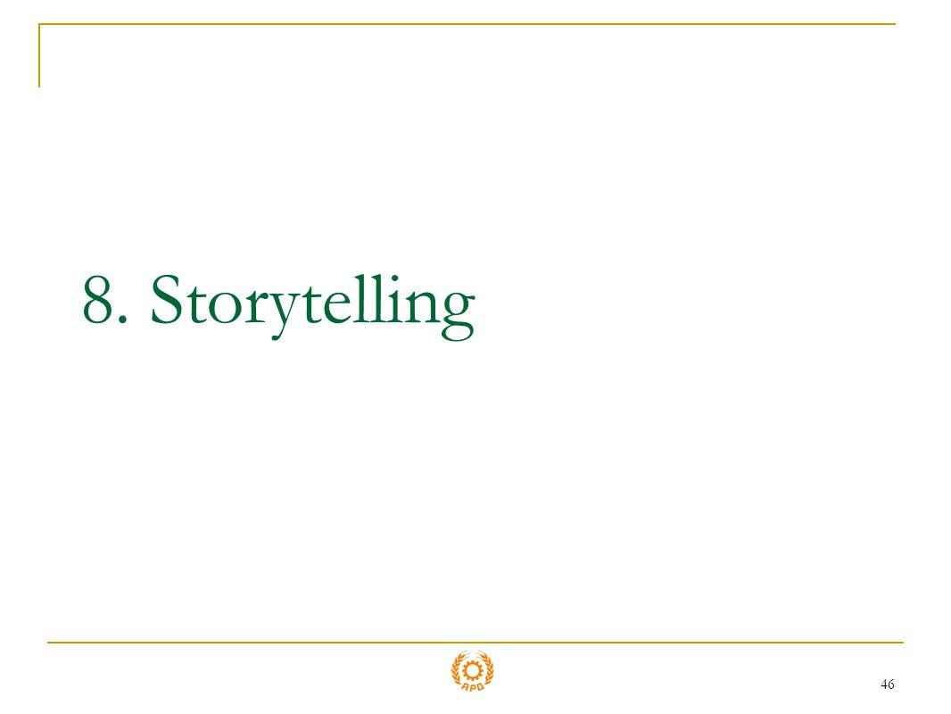 8. Storytelling