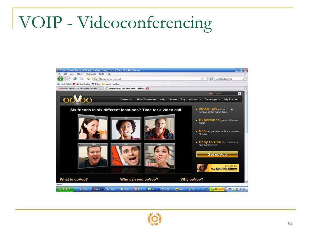VOIP - Videoconferencing