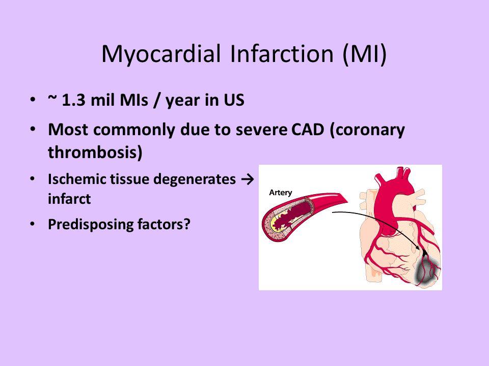 Myocardial Infarction (MI)