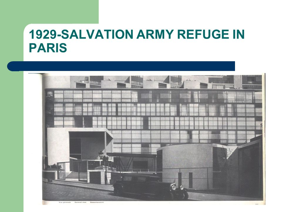 1929-SALVATION ARMY REFUGE IN PARIS