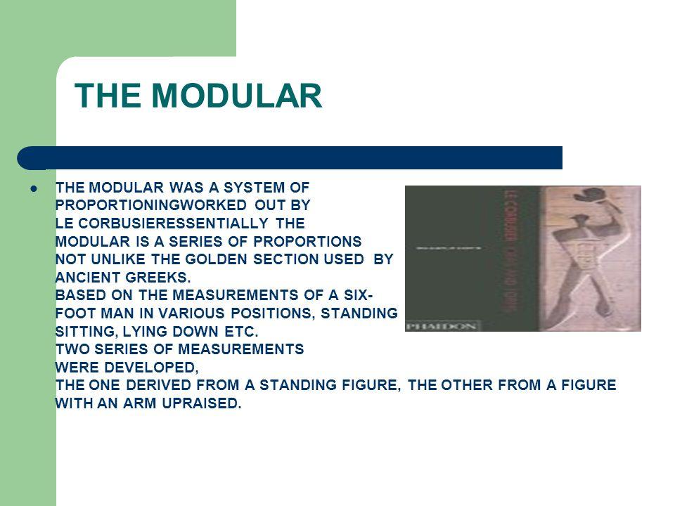THE MODULAR
