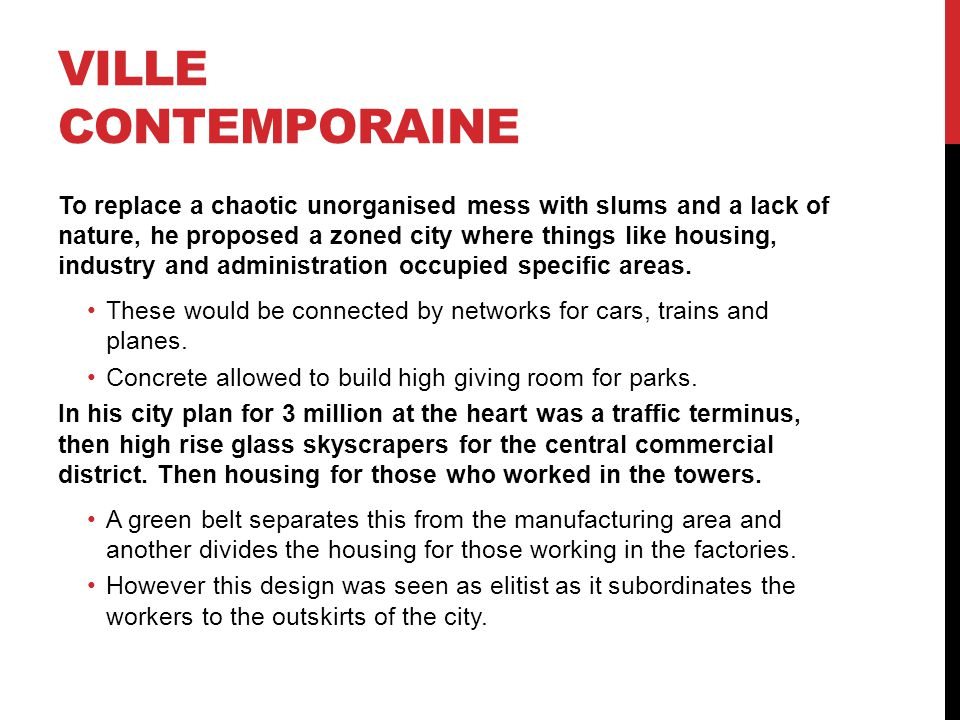 Ville Contemporaine