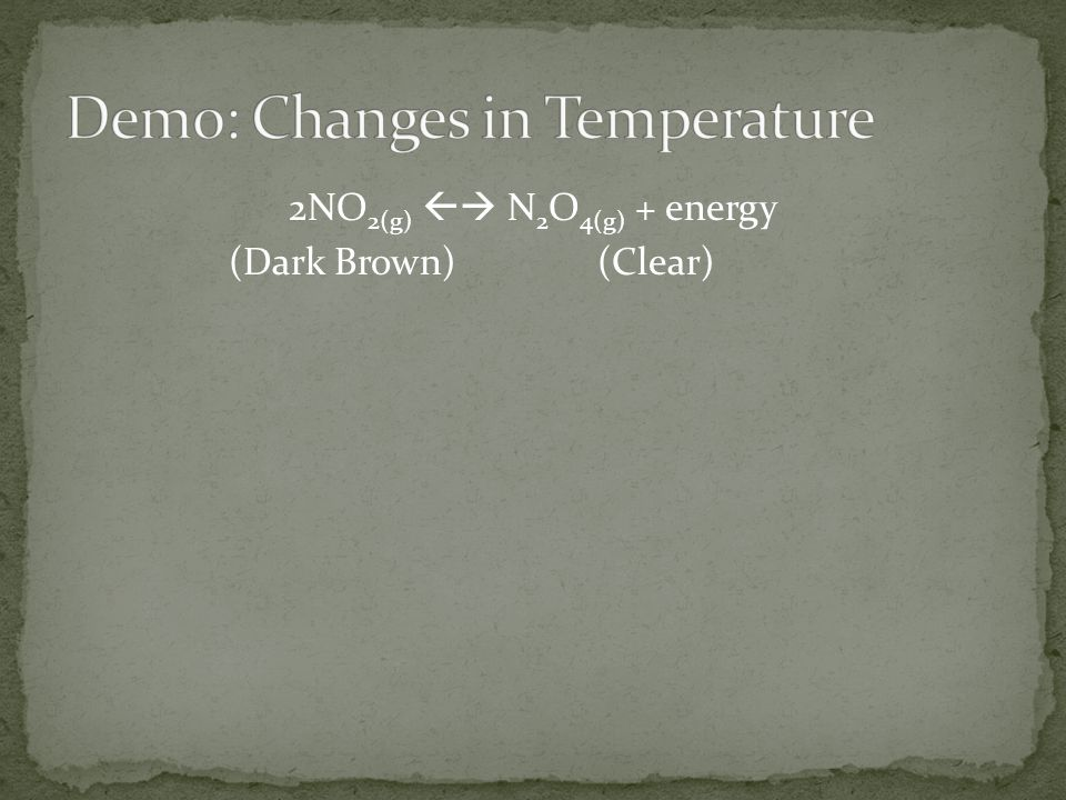 Demo: Changes in Temperature
