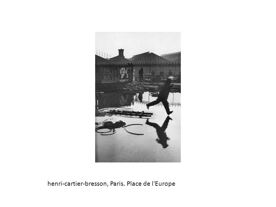 henri-cartier-bresson, Paris. Place de l Europe