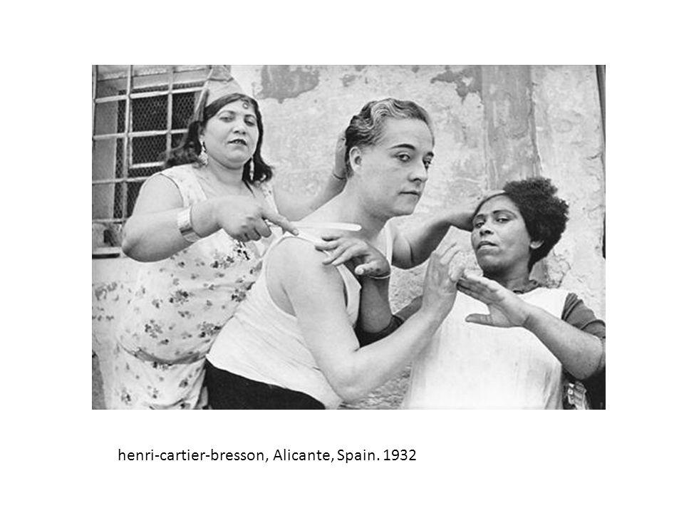 henri-cartier-bresson, Alicante, Spain. 1932