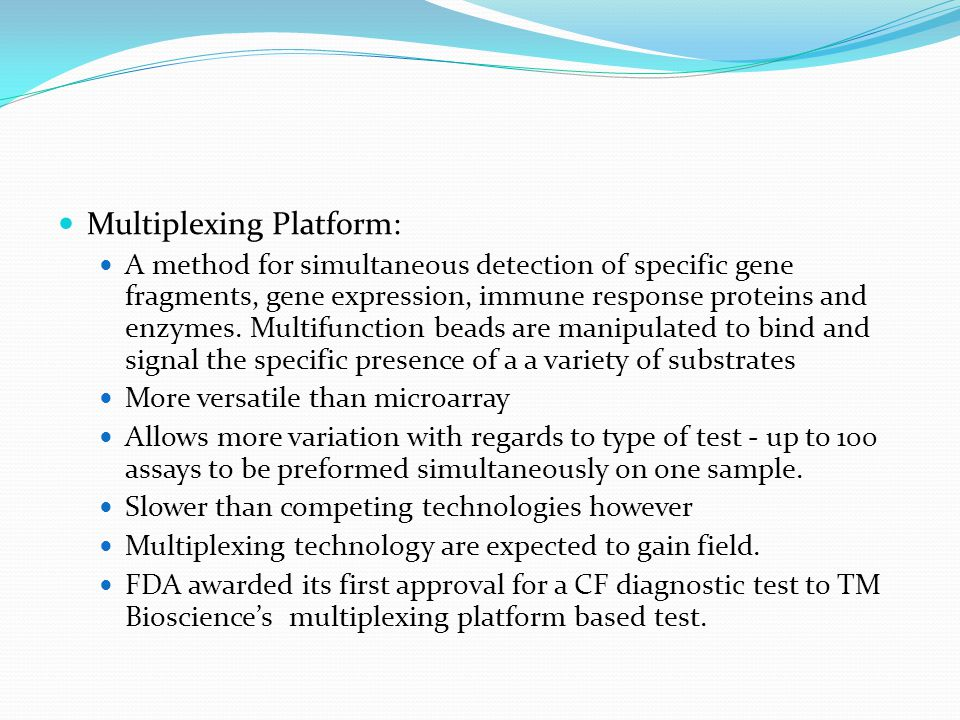 Multiplexing Platform: