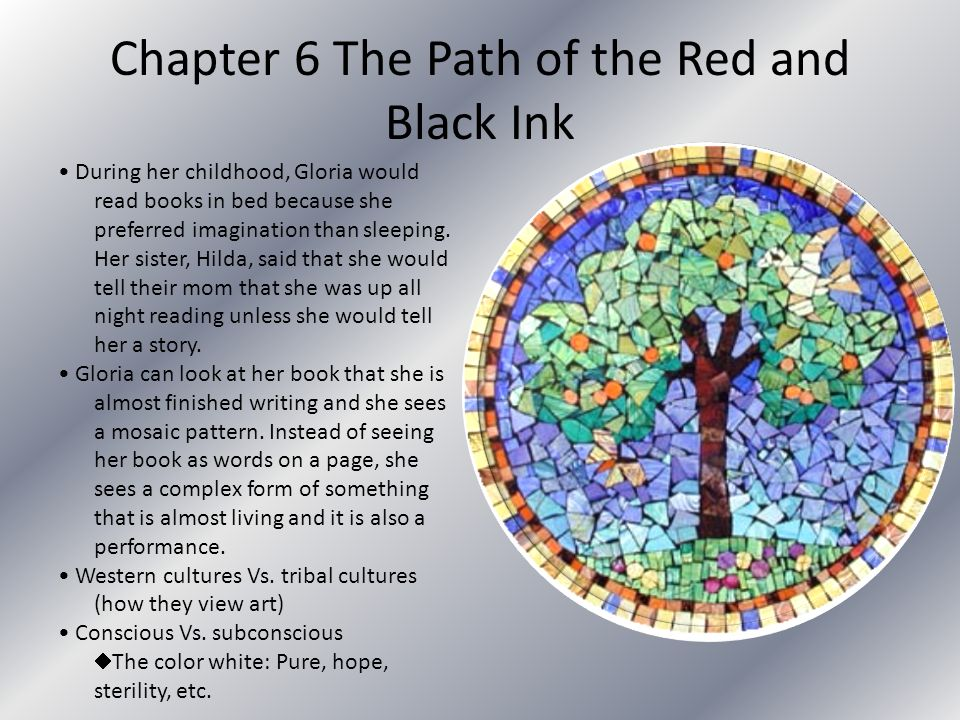 Chapter 6 The Path of the Red and Black Ink