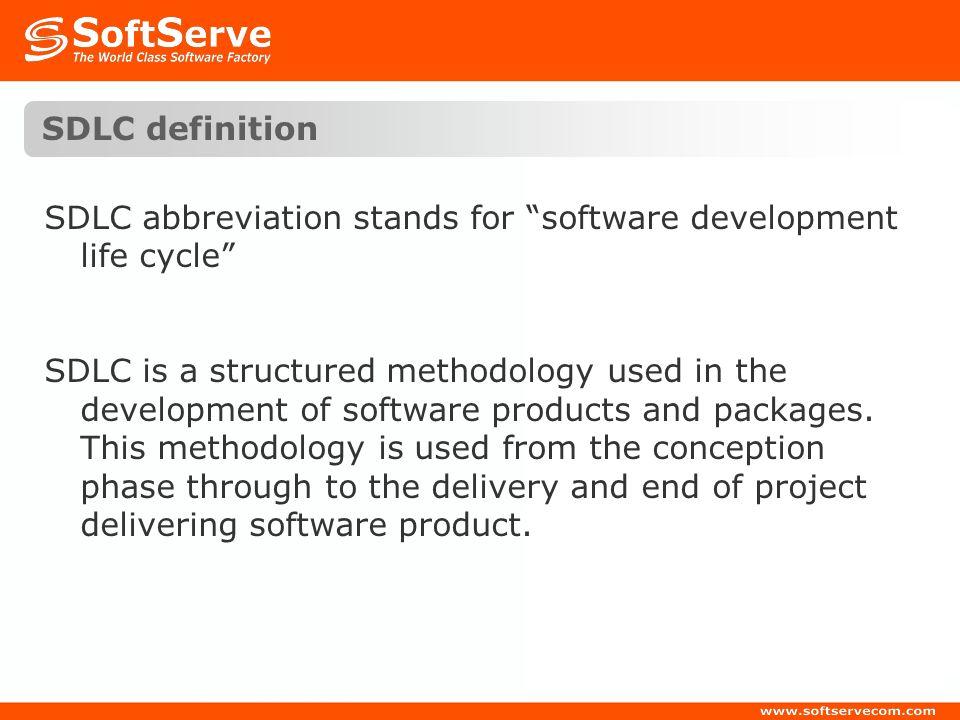 SDLC definition