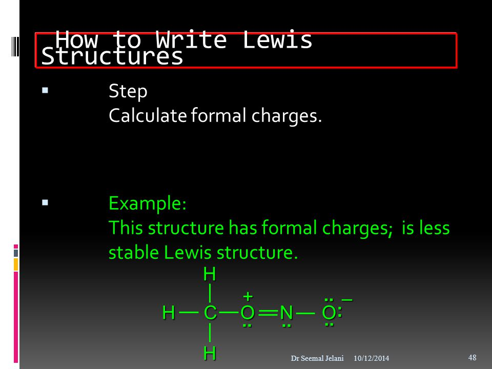 How to Write Lewis Structures