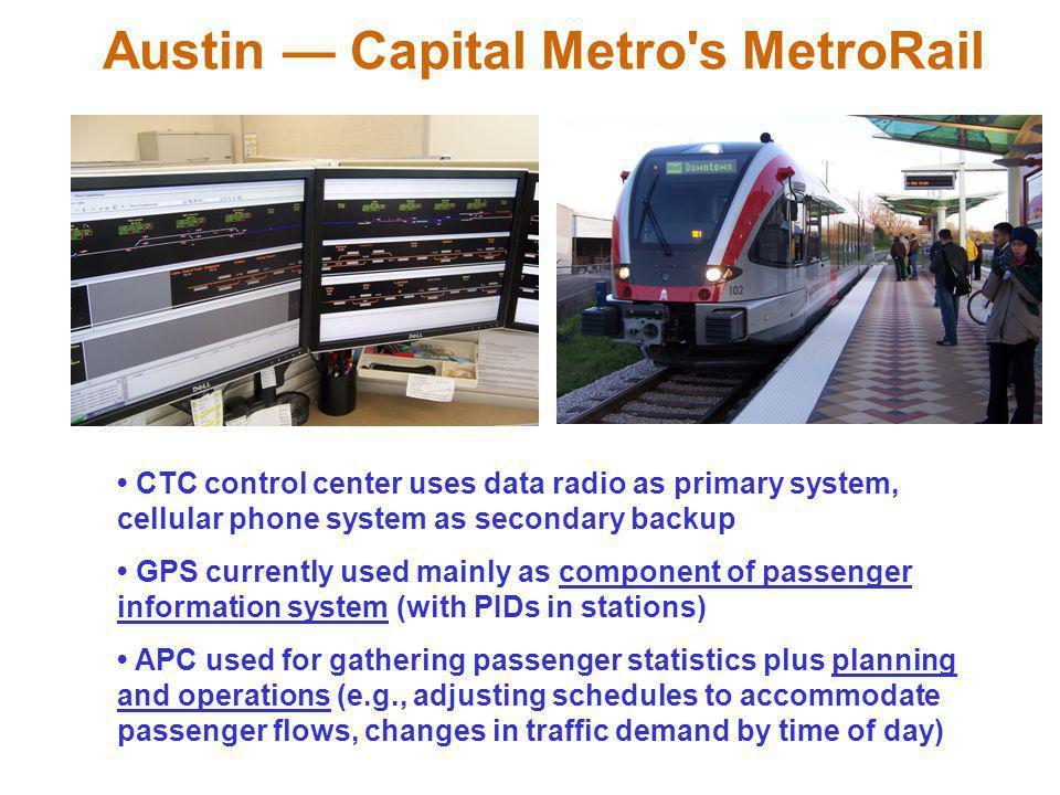 Austin — Capital Metro s MetroRail