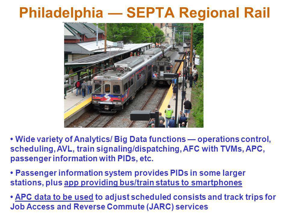 Philadelphia — SEPTA Regional Rail