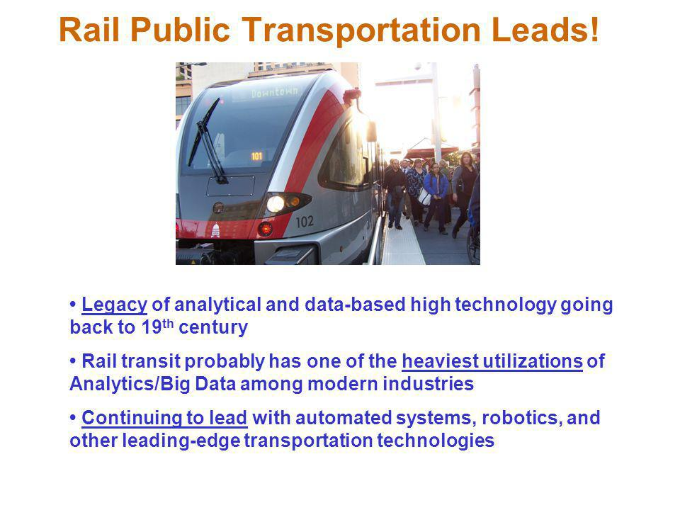 Rail Public Transportation Leads!