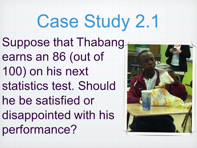 Case Study 2.1