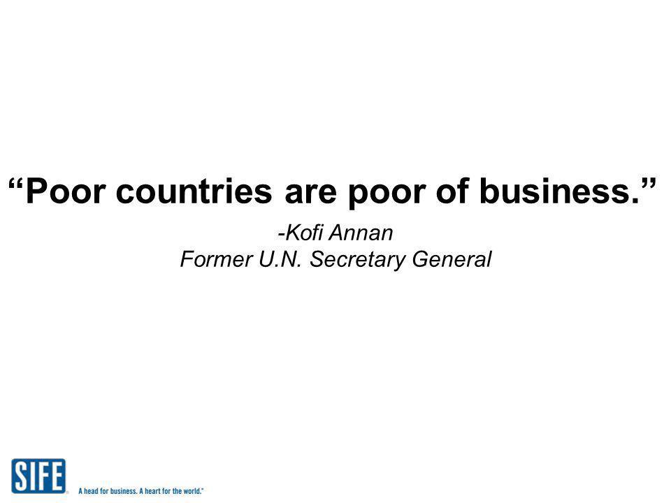Former U.N. Secretary General