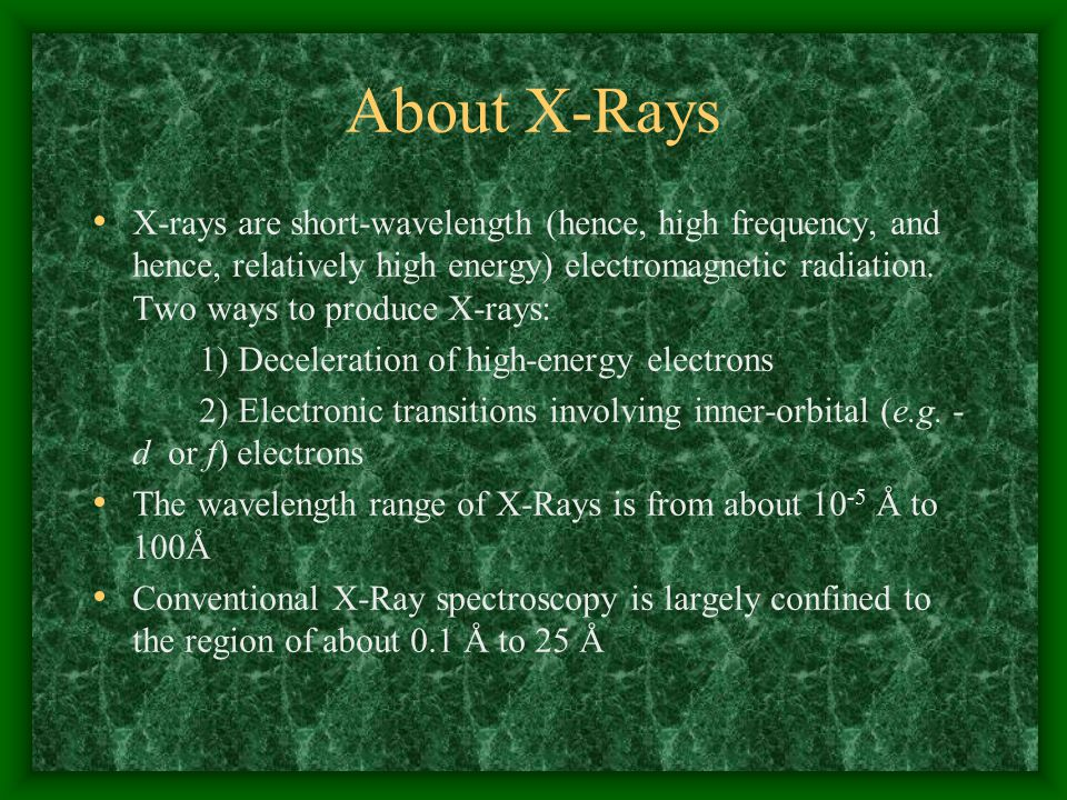 About X-Rays