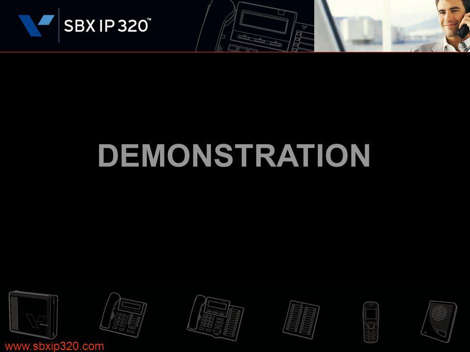 DEMONSTRATION www.sbxip320.com 15 15