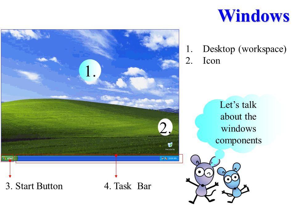 Let's talk about the windows components