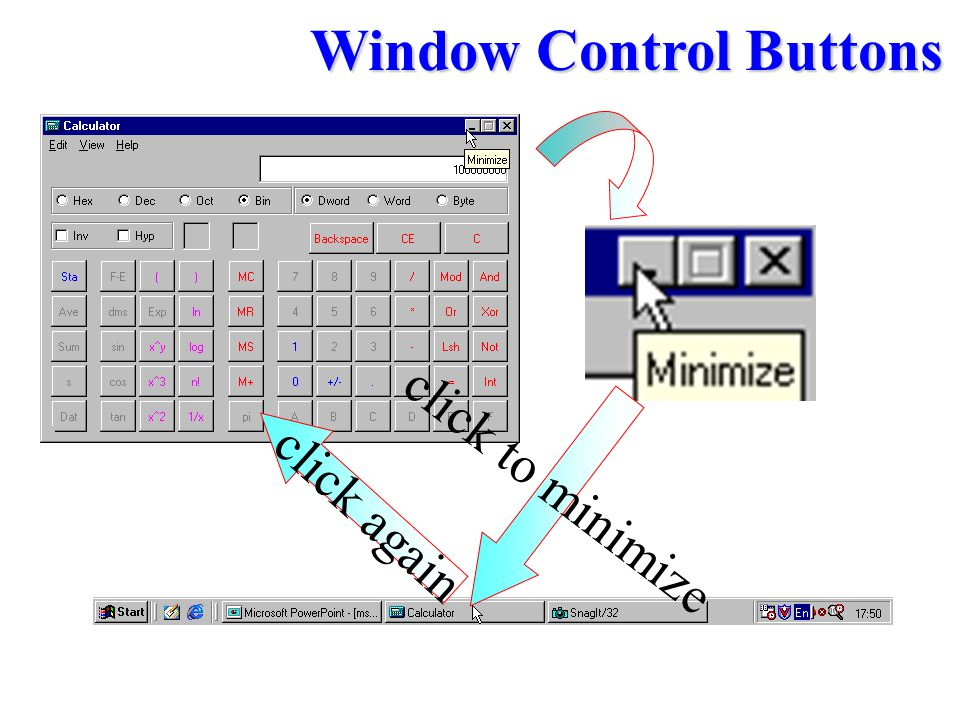 Window Control Buttons