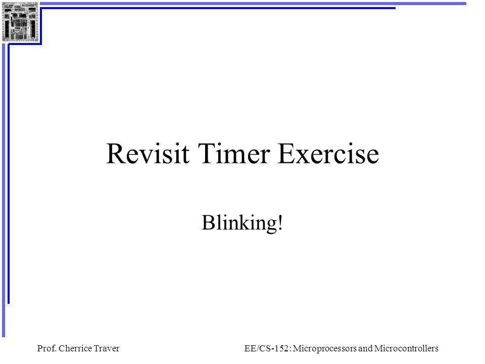 Revisit Timer Exercise