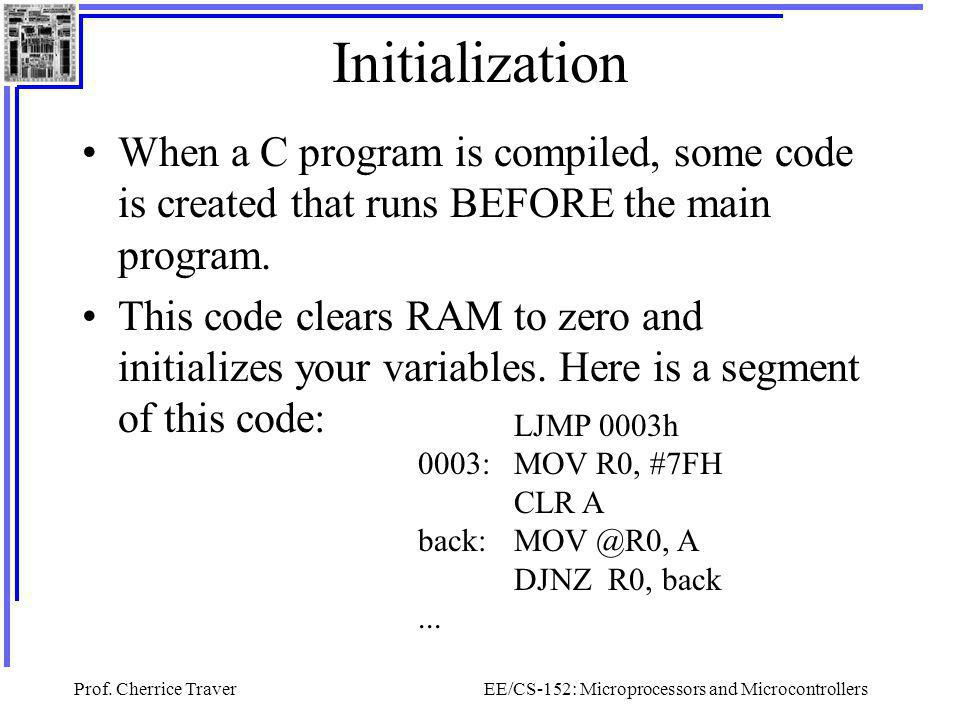 EE/CS-152: Microprocessors and Microcontrollers