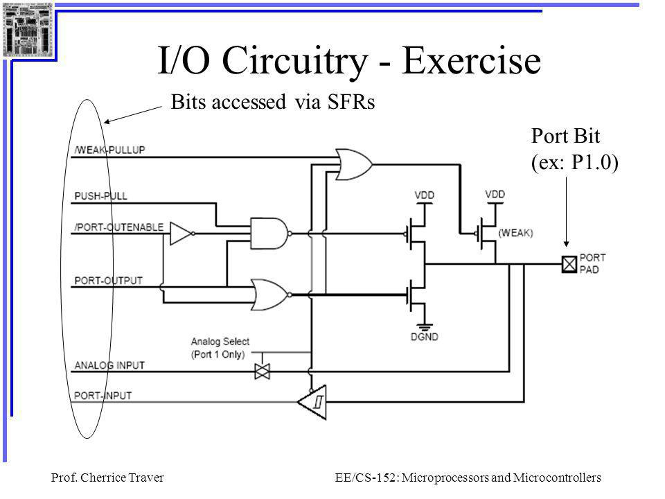 I/O Circuitry - Exercise