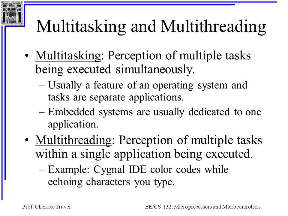 Multitasking and Multithreading