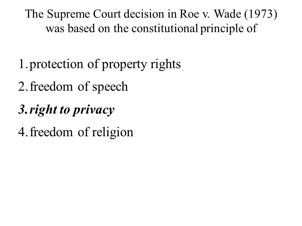 protection of property rights freedom of speech right to privacy