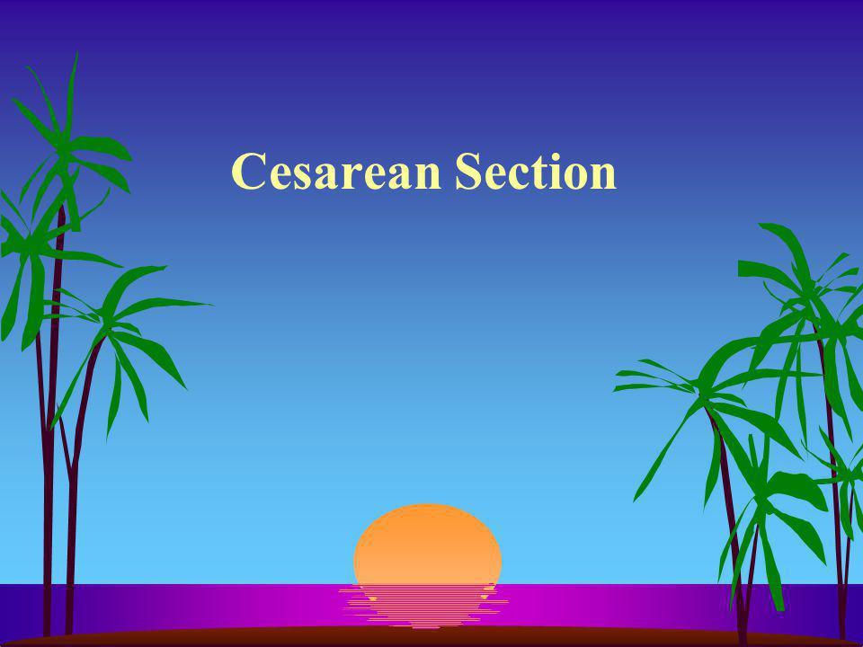 Cesarean Section
