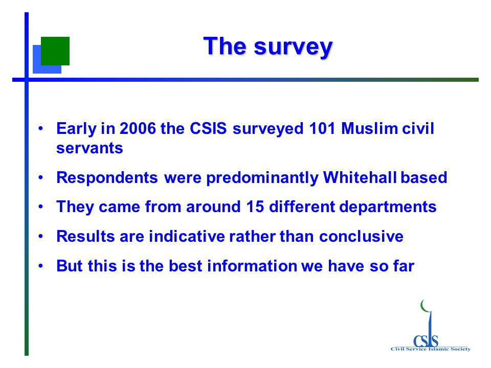 Key messages Muslims are a growing minority in the UK