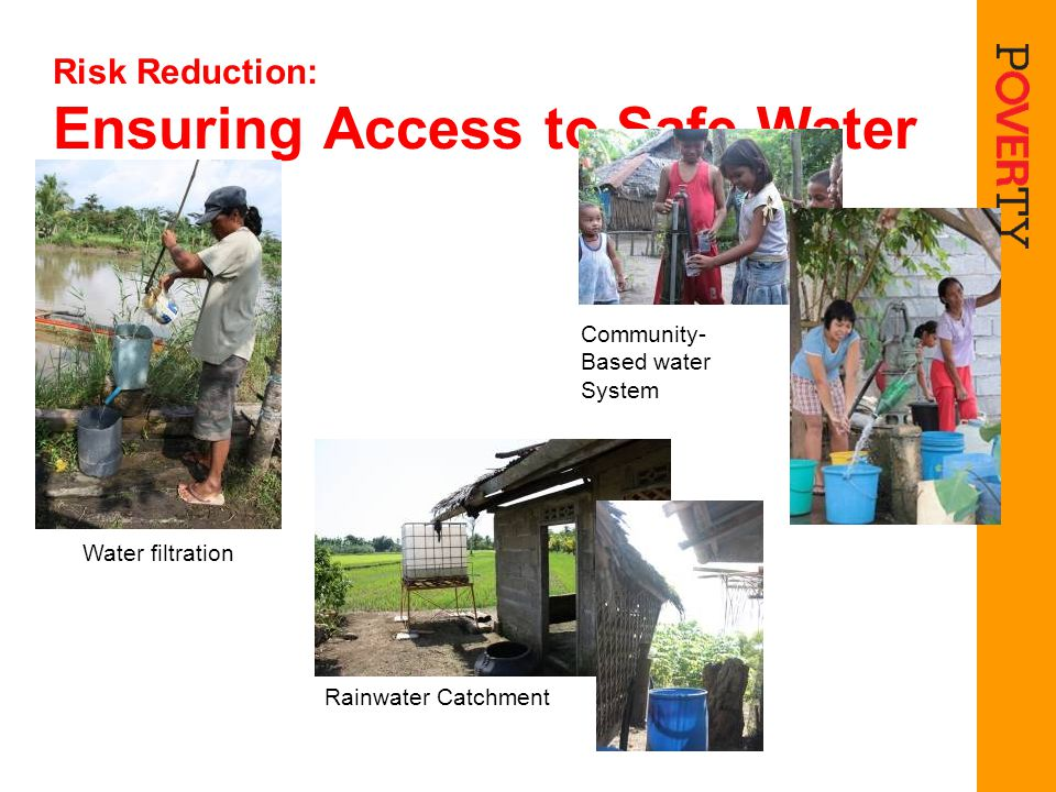 Risk Reduction: Ensuring Access to Safe Water