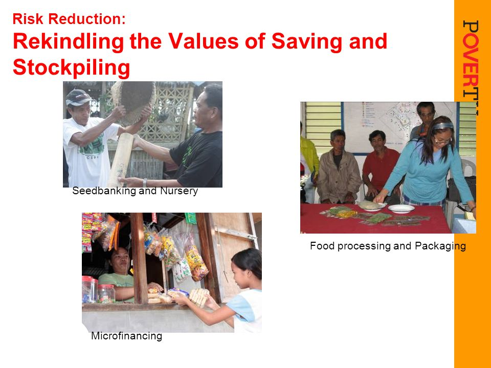 Risk Reduction: Rekindling the Values of Saving and Stockpiling
