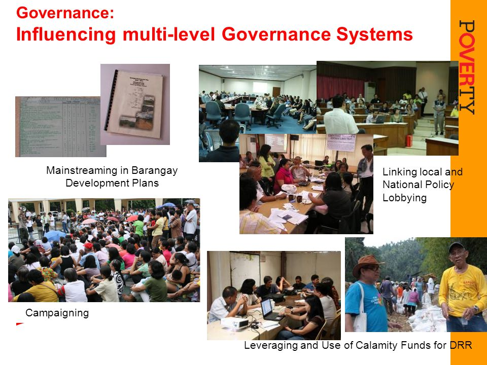 Governance: Influencing multi-level Governance Systems