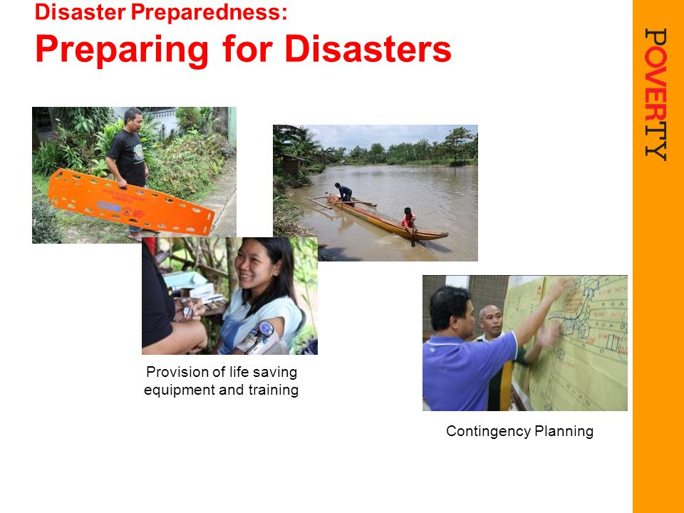 Disaster Preparedness: Preparing for Disasters