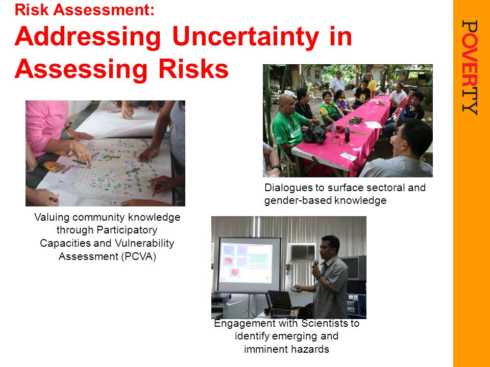 Risk Assessment: Addressing Uncertainty in Assessing Risks