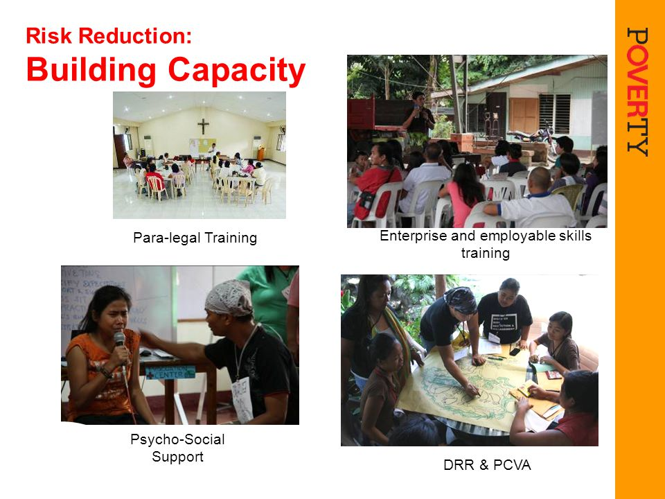 Risk Reduction: Building Capacity