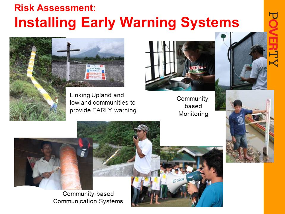 Risk Assessment: Installing Early Warning Systems