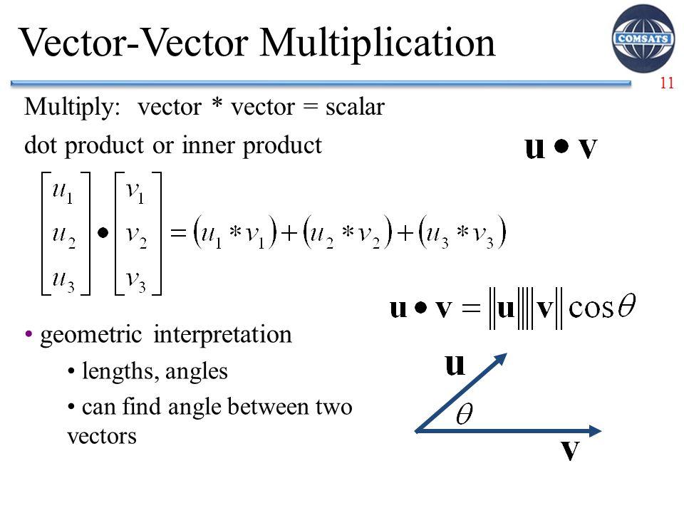 Vector-Vector Multiplication