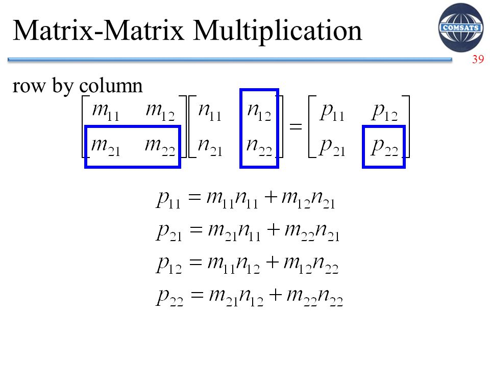 Matrix-Matrix Multiplication