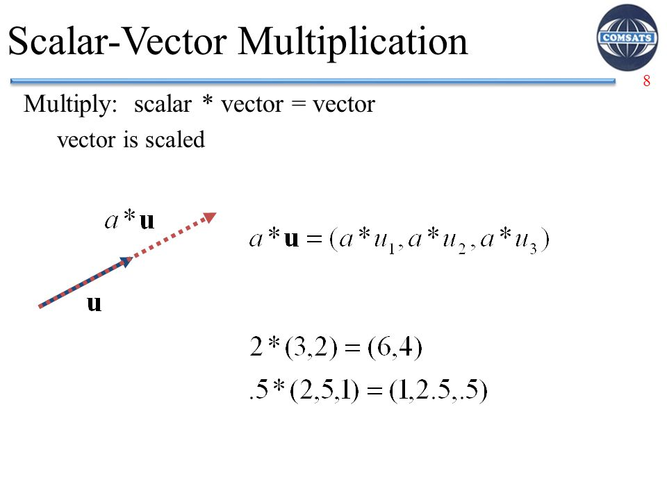 Scalar-Vector Multiplication