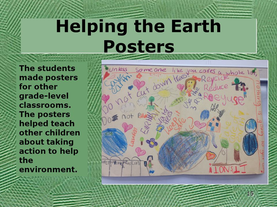 Helping the Earth Posters