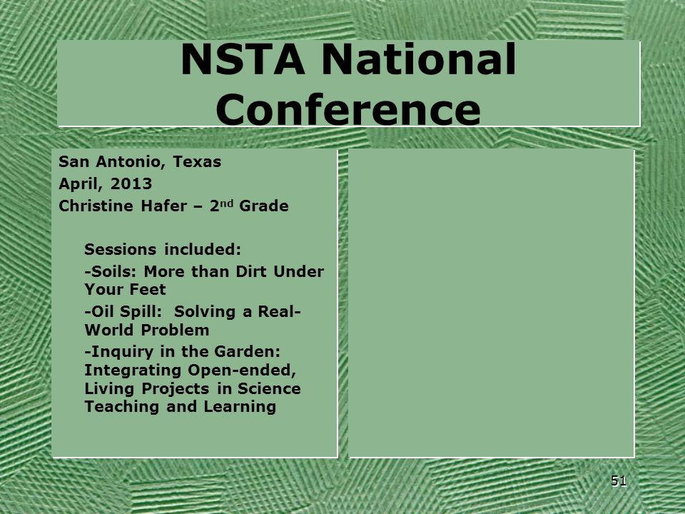 NSTA National Conference