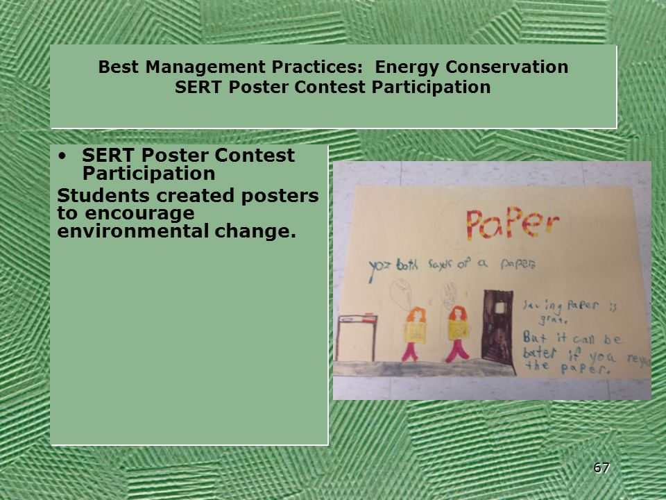 SERT Poster Contest Participation