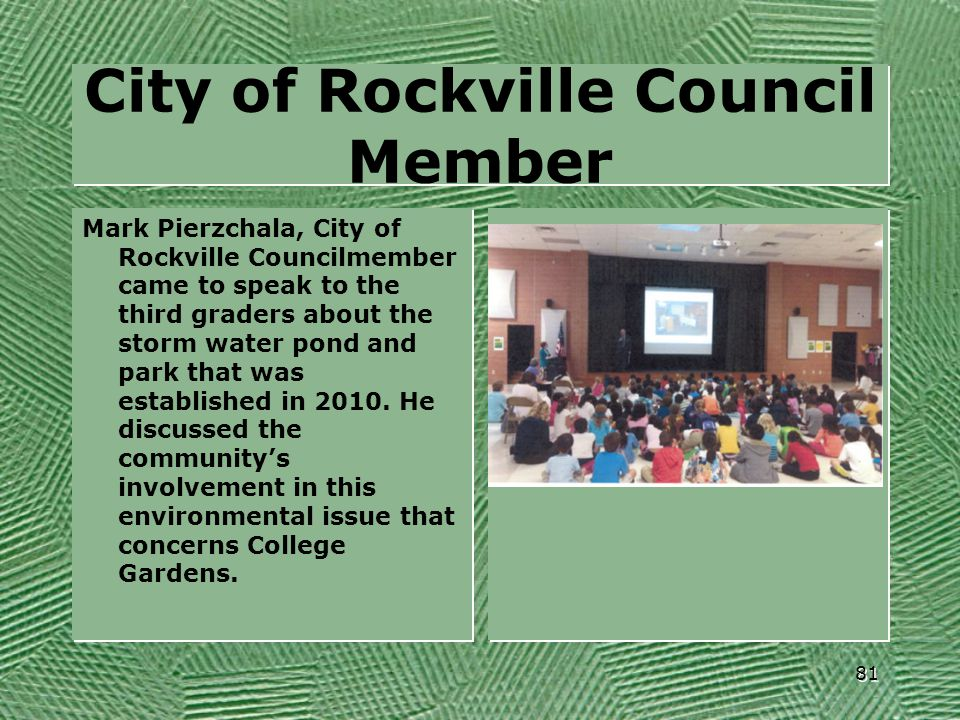 City of Rockville Council Member